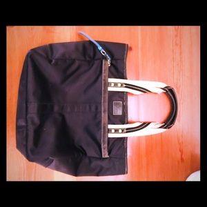 Coach big black bag